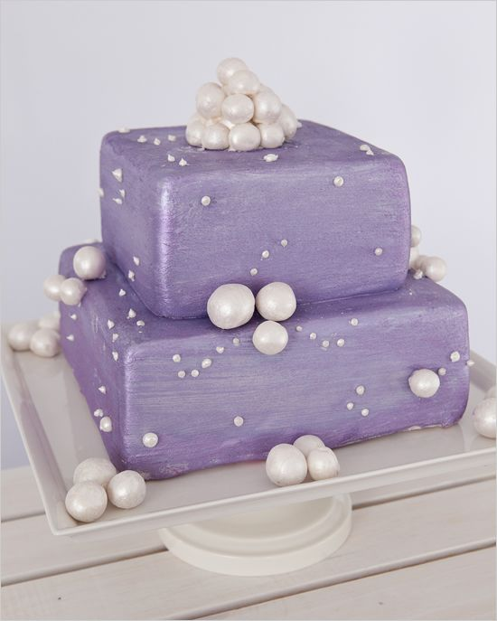 """purple wedding  cake   We can help achieve this look at Dallas Foam with cake dummies, cupcake stands and cakeboards. Just use """"2015pinterest"""" as the item code and receive 10% off your first order @ www.dallas-foam.com. Like us on Facebook for more discount offers!"""