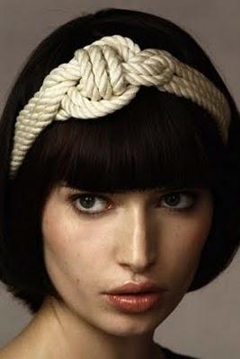 Jennifer Behr's Sailor Knot headband