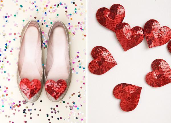 bridal shoes heart