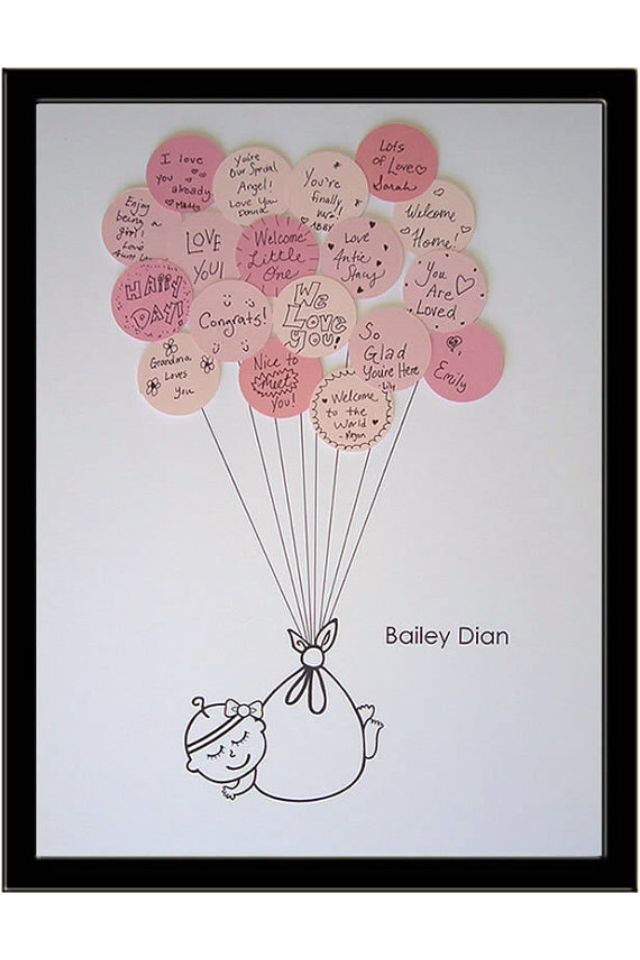 Have guests write a message for baby at the #babyshower and create fun wall art to display in nursery! #wallart: Showers, Guest Books, Baby Shower Ideas, Cute Ideas, Guestbook, Shower Guest, Cute Babies, Baby Boy, Baby Shower