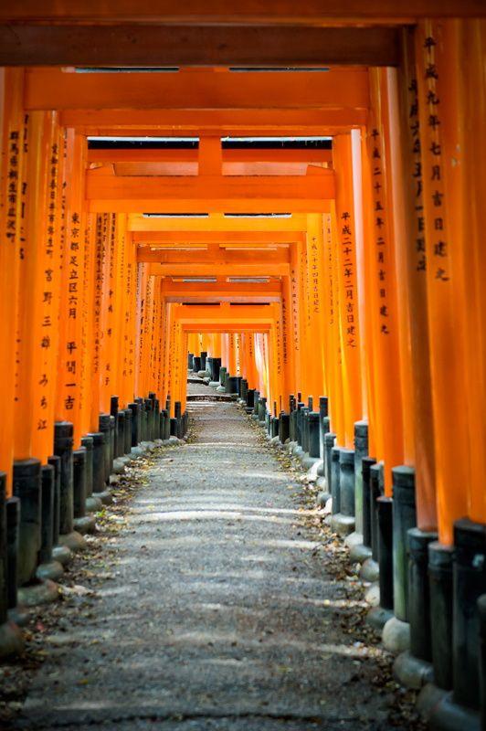 Fushimi Inari Taisha Kyoto by Aleksander Poniewierski on 500px