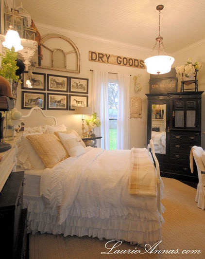 17 best images about farmhouse bedrooms decorating ideas for Beautiful traditional bedroom ideas