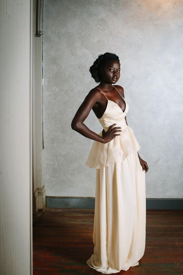 Best 25 peplum wedding dress ideas on pinterest peplum for Peplum dresses for weddings