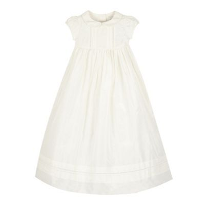 RJR.John Rocha Baby girls' white formal christening gown- | Debenhams