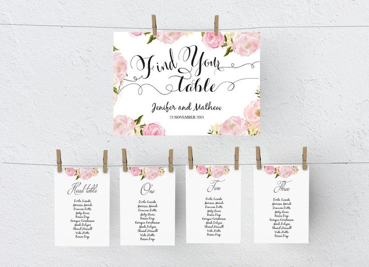 12 best images about DIY Wedding Seating Chart Poster Templates on – Seating Chart Template Word