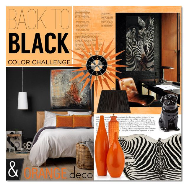 Untitled #1515 by elena-777s on Polyvore featuring polyvore interior interiors interior design home home decor interior decorating Chelsea House Quail Serena & Lily orangeandblack colorchallenge