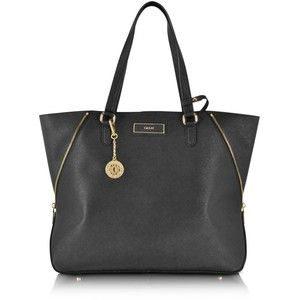 DKNY Bryant Park Saffiano Large Zip Tote