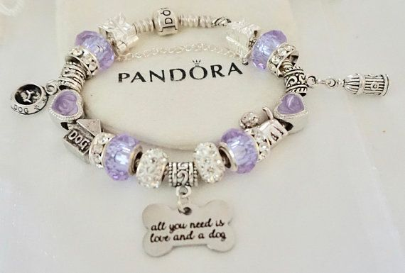 All You Need Is Love And A Dog Authentic Jared Pandora Bracelet