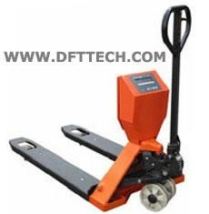 Hydraulic Pallet Scales in Chennai  STANDARD FEATURES Powder Coated Finishing Optional Internal Printer Handling and Weighing at the same time Calibration on Keyboard Build in Rechargeable Battery Tare & Present Tare - by DFT TECH, 8056224842, dfttechindia@gmail.com, Chennai