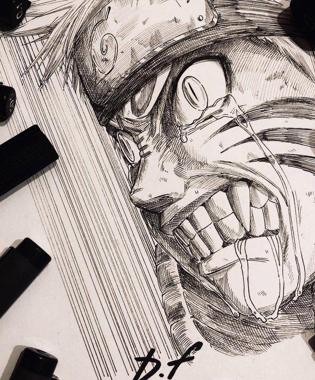 Uzumaki Naruto By David Freeman Naruto Naruto Sketch Naruto Drawings Naruto Shippuden Anime