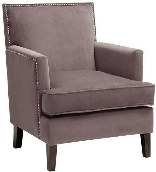 Madison Park Colton Gray Accent Chair  Puritan Furniture  CT.u0027s Largest  Furniture