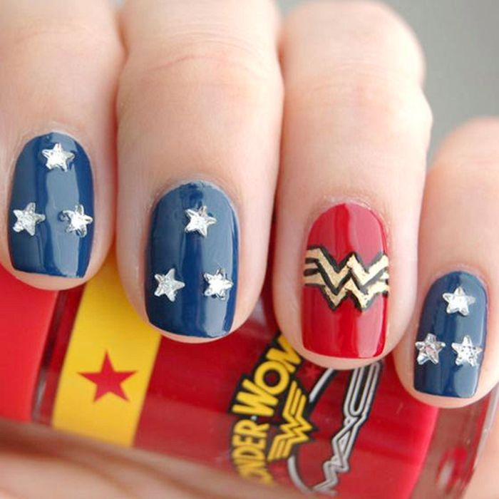758 best nerd nail designs images on pinterest african 180 cool nail designs for daily style prinsesfo Image collections