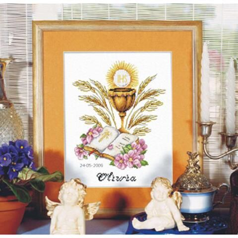 Orchidea First Communion Counted Cross-Stitch Chart Was: $9.99                     Now: $6.99