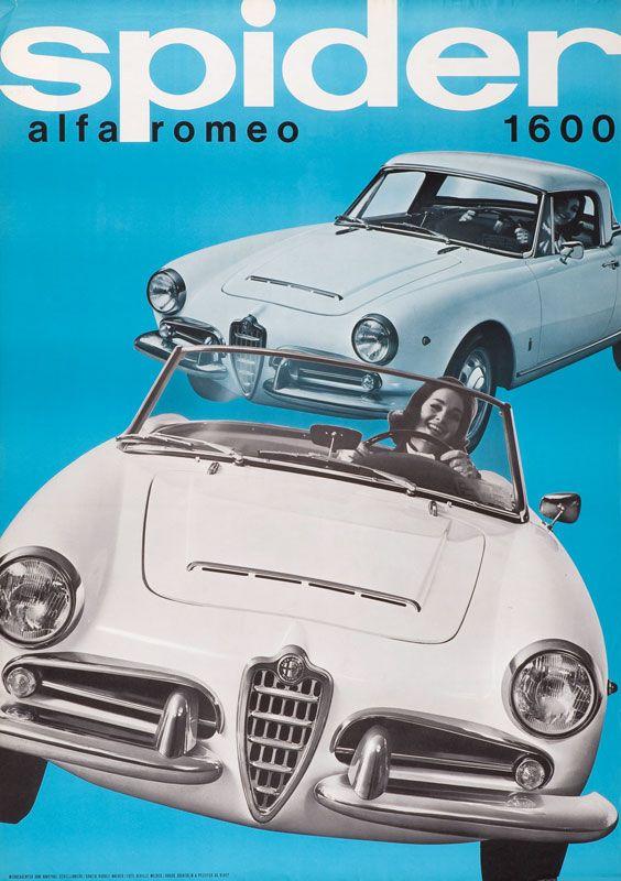 Maeder Rudolf - Alfa Romeo - Spider, 1961
