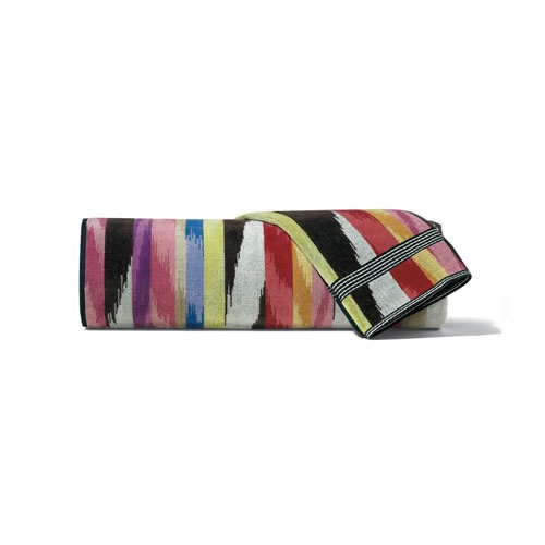 Homer Bath Sheet in Multi Colours by Missoni Home