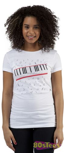 Michael Jackson Shirt Beat It Piano t-shirt, at 80stees.com. Huge selection of Music and Movie t-shirts. Fast shipping, order now.