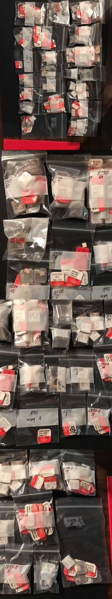 Other Watch Parts 10324: Genuine Rolex Tudor Watch Parts. Assorted. New. With Catalog. Over 180 Pieces. -> BUY IT NOW ONLY: $1720 on eBay!