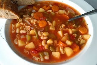 Minstrone suppe