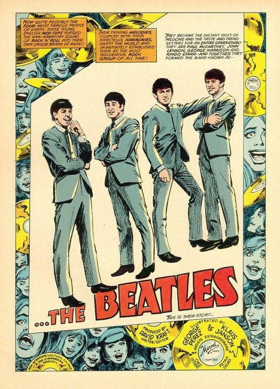 The Beatles em quadrinhos