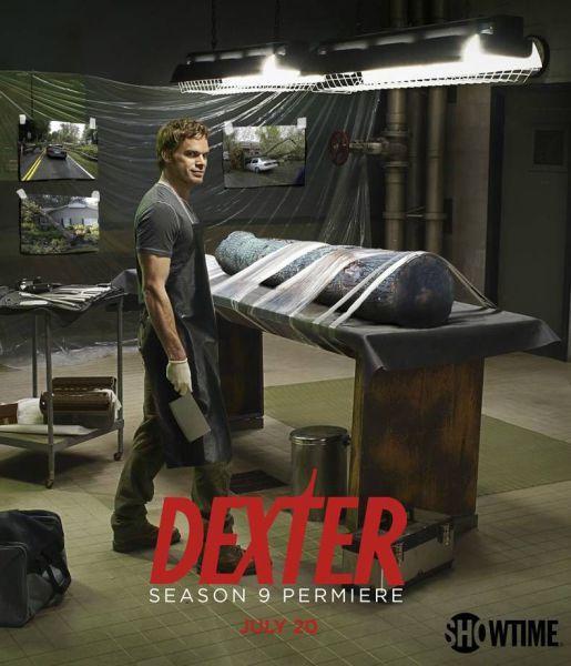 Dexter Season 9 poster. I'm cracking up at this