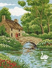 Riverside Cottage Tapestry MR78101