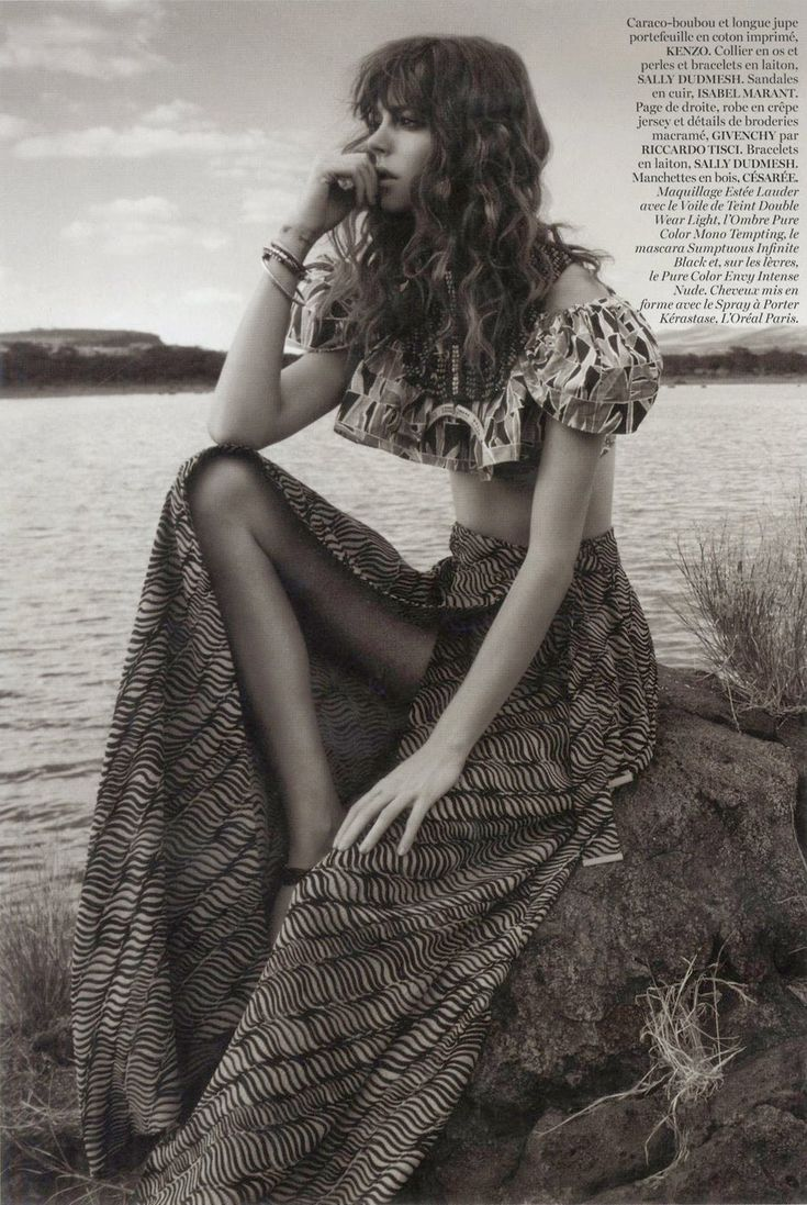 Freja Beha Erichsen by Glen Luchford for Vogue Paris April 2014