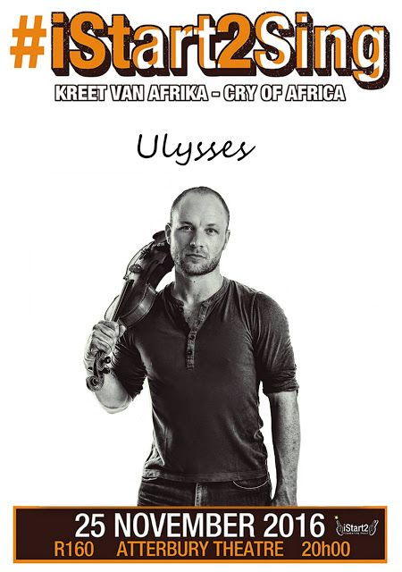 iStart2 Blog : #iStart2Sing the Cry Of Africa ... Ulysses and Art...