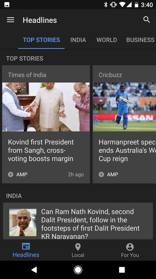 Скачать Гугл новости и погода на Андроид – Google