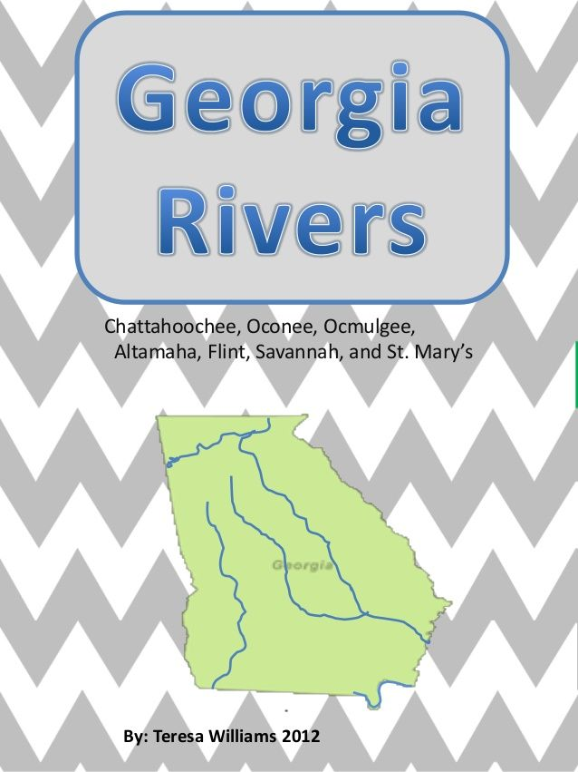 Best Georgia Regions Rivers Images On Pinterest Georgia - Georgia map activity tier 2