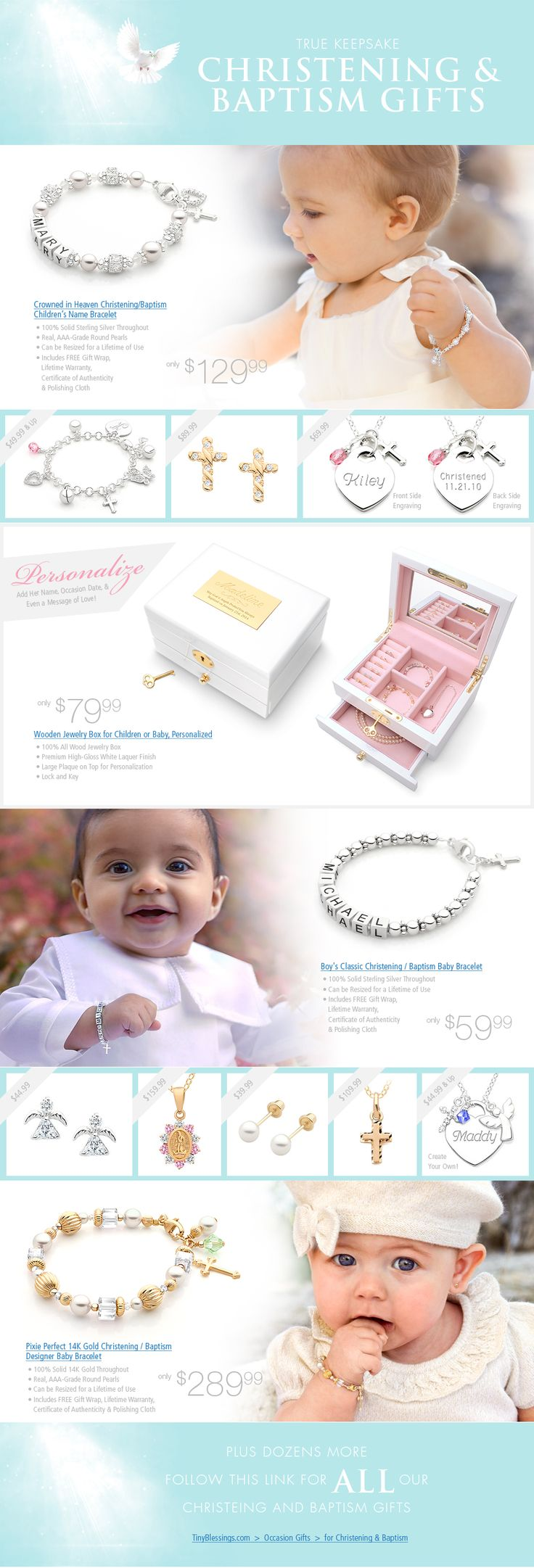 Gorgeous Baptism & Christening Gift Ideas!