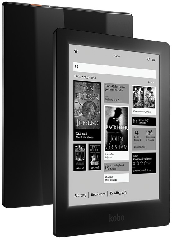 The high resolution Kobo Aura HD eReader could be a Kindle-killer.