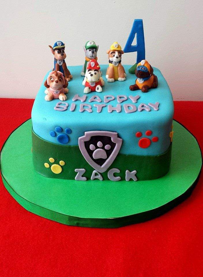 Images Of Paw Patrol Birthday Cake : 129 best PAW Patrol Party Ideas images on Pinterest