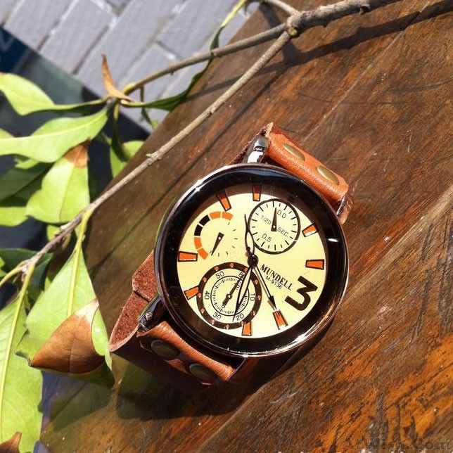 Wow~ Awesome Retro Handmade Man Wrist Watch! It only $28.9 at www.AtWish.com! I like it so much<3<3!