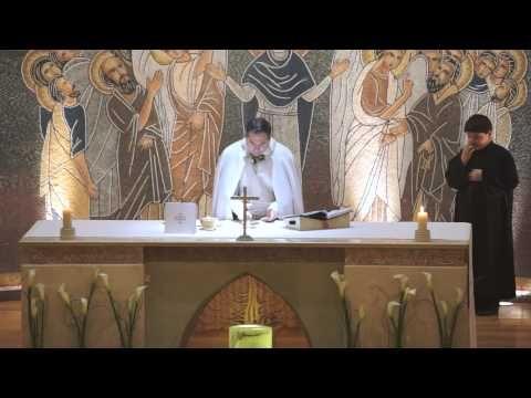 Consagracion en arameo, idioma de Jesucristo - YouTube