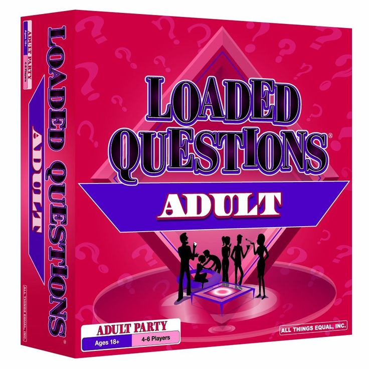 Loaded Questions - Adult Version... Kate's Bachelorette Party