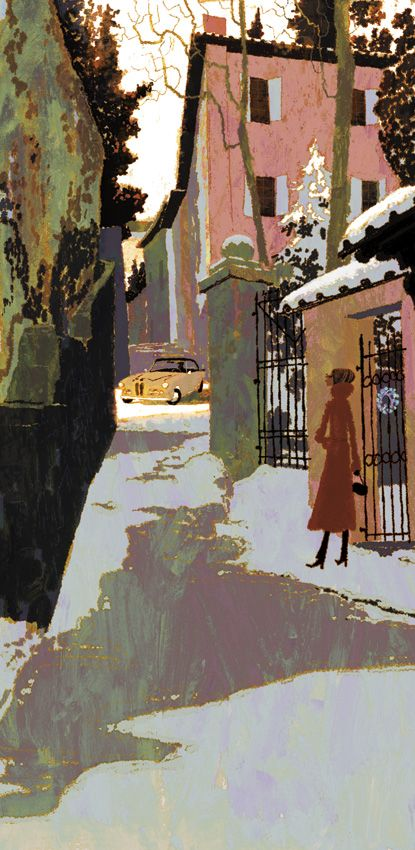 Tadahiro Uesugi, way up there on my all-time favorite illustrators list. Waaay up there!