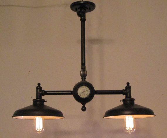 Steampunk Light Vintage Industrial Chandelier Antique Lighting Lamp Edison Bulb Fixture