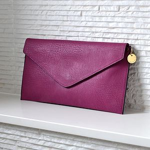 Personalised Clutch Bag - 100 less ordinary gift ideas