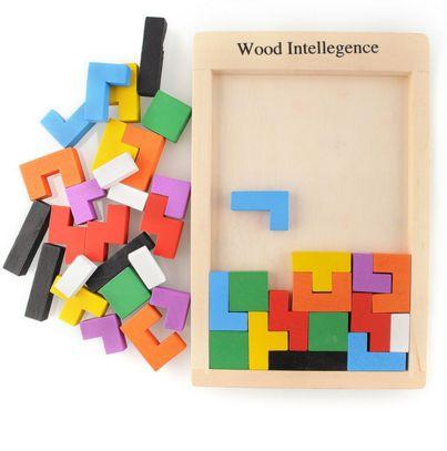 Permet à votre enfant de jouer avec les formes et les couleurs. Assemblage de formes géométriques variées pour remplir des zones sans laisser d'espace... Les co