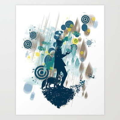 le petit prince 2010 Art Print by Frederic Levy-hadida - $19.76