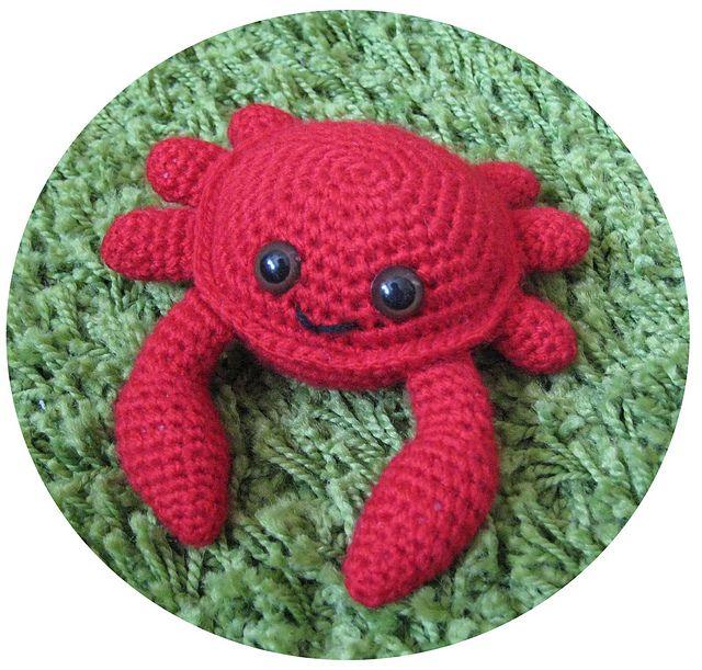 Crochet Amigurumi Crab : 17 Best images about crochet- amigurumi, stuffed toys, etc ...