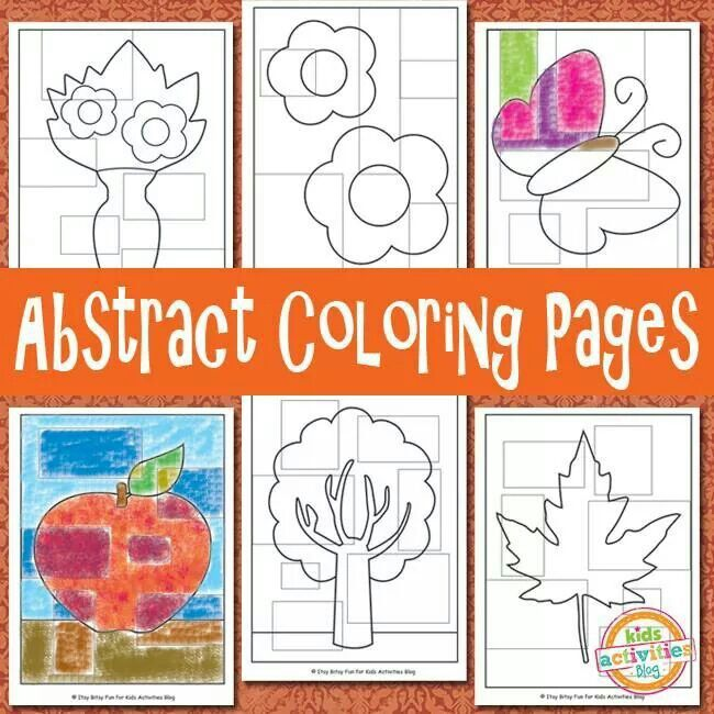 Modern Cycle Coloring Pages