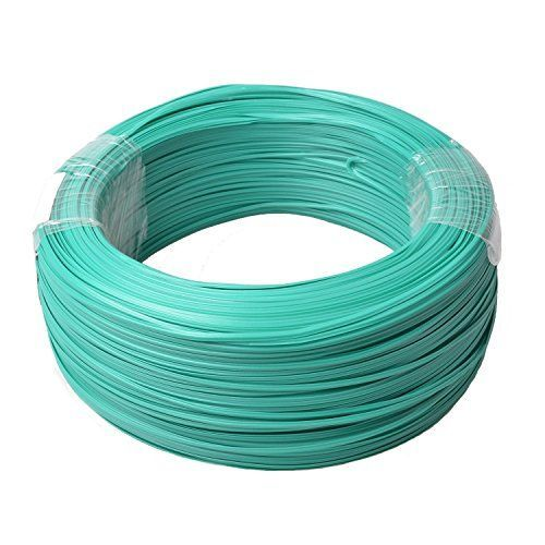 Firstcom Sturdy Gardening Plastic Twist Ties Plant Training Wire Cable Binder Roll 820 Feet 250m Green Reusable Steel Wire Plastic Coating -- More info could be found at the image url.