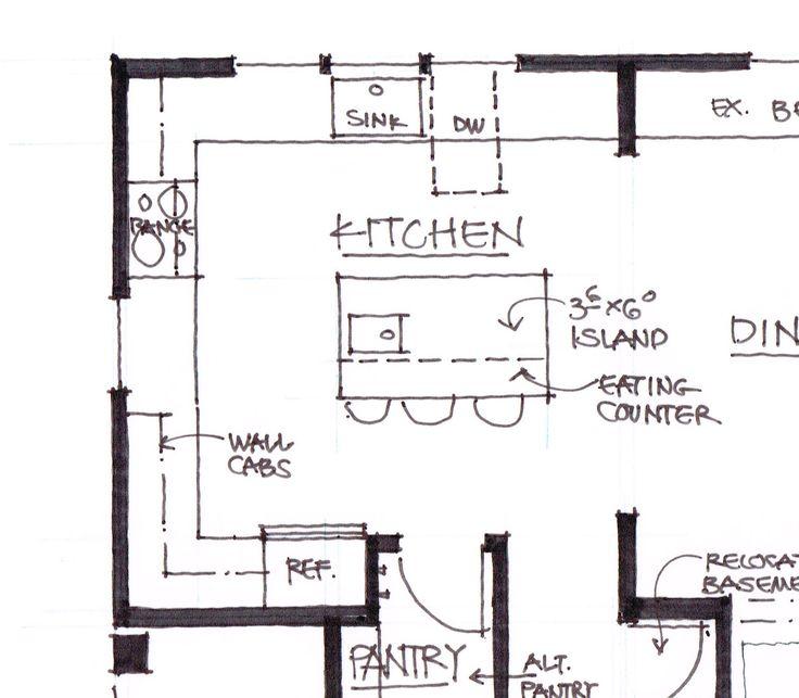 Kitchen Island Dimensions kitchen floor planssize - kitchen island dimensions with
