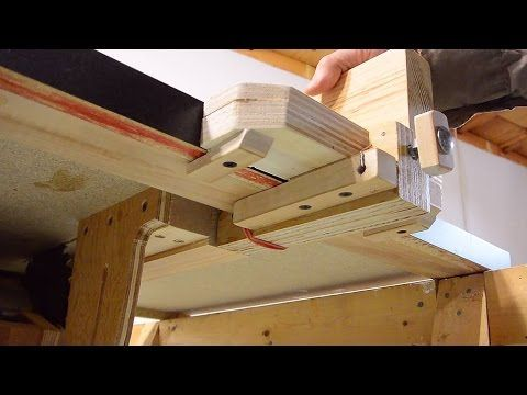 how to cut melamine with table saw youtube