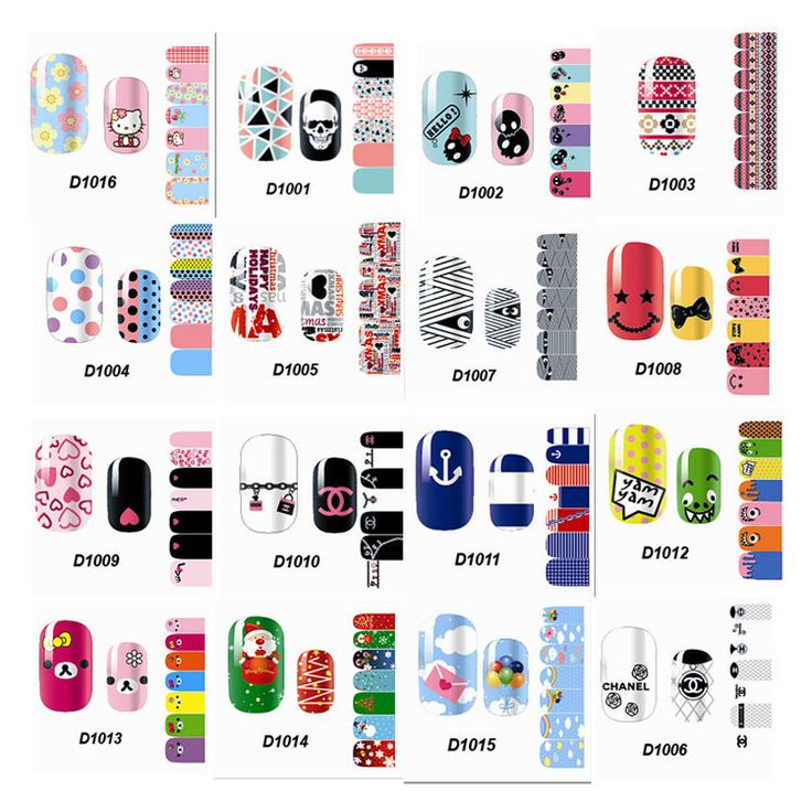 Hot Full Self Nail Wraps Stickers Adhesive Polish Foils Decoration Art Decals #Dolphin