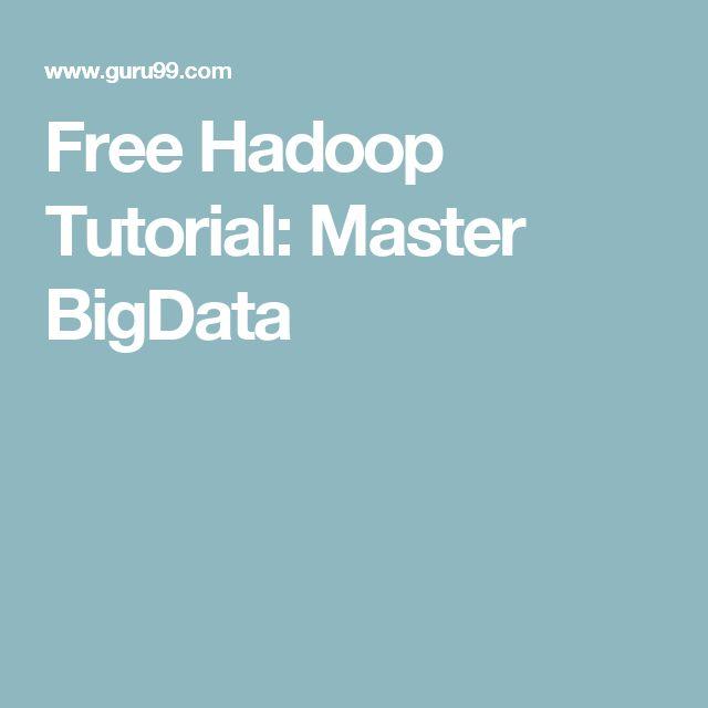 Free Hadoop Tutorial: Master BigData