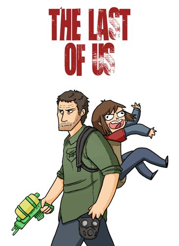 The Last of Us - Joel and Ellie from thecopperkidd.tumblr.com