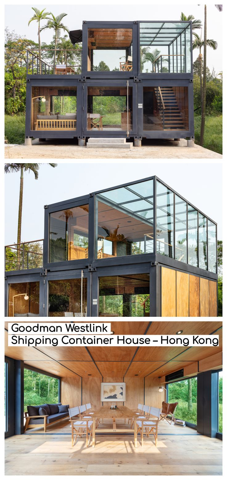 Goodman Westlink Shipping Container House – Hong Kong