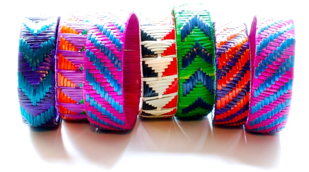 Indego Africa's new swampgrass bangles. Love the electric energy of these woven bracelets!Africa Bracelets, Africa Shops, Jewelry Accessories, Rwanda, Indego Africa, African Style, African Women, Fair Trade, Women Artisan